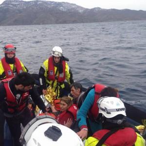 Auch im Winter: Das Mittelmeer hält keine Flüchtenden auf.