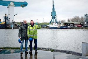 Sea-Watch Skipper Ingo Werth (rechts).