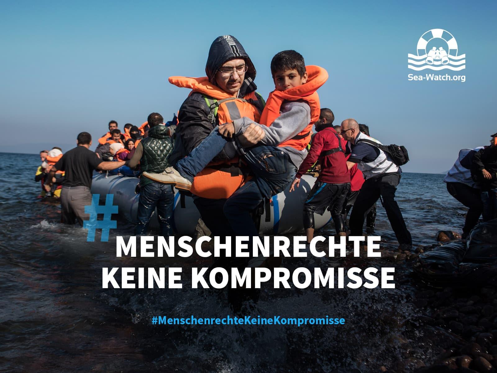 Sea-Watch Einsatz auf Lesbos