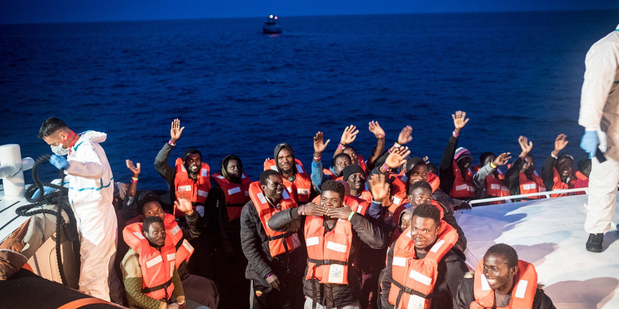 Italien Karte Lampedusa.Die Hafen Sind Offen Sea Watch 3 Schifft 65 Uberlebende In